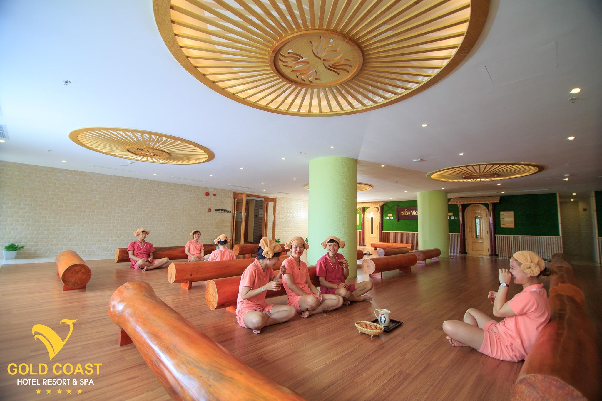 Phòng xông hơi trong khách sạn Biển Vàng