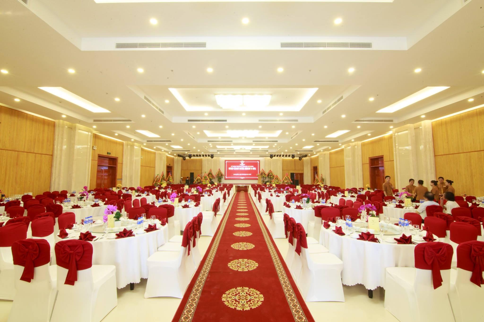 Phòng họp, hội nghị tại Gold Coast Hotel Resort & Spa