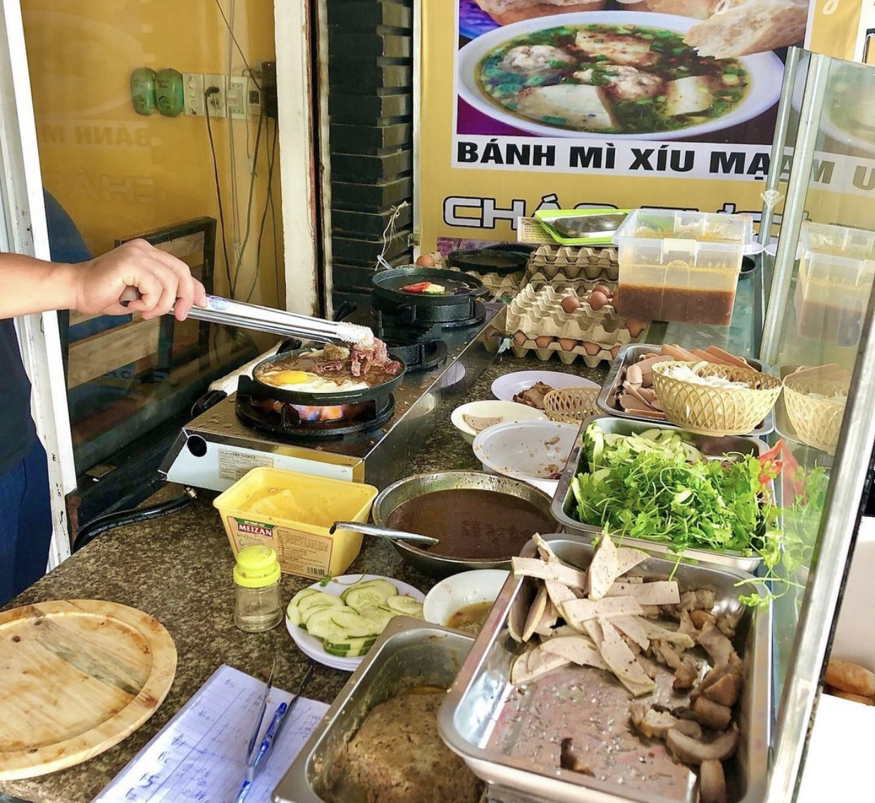 Bánh mì chảo Toàn Phát