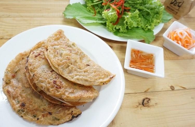 Bánh xèo Quảng Hòa.