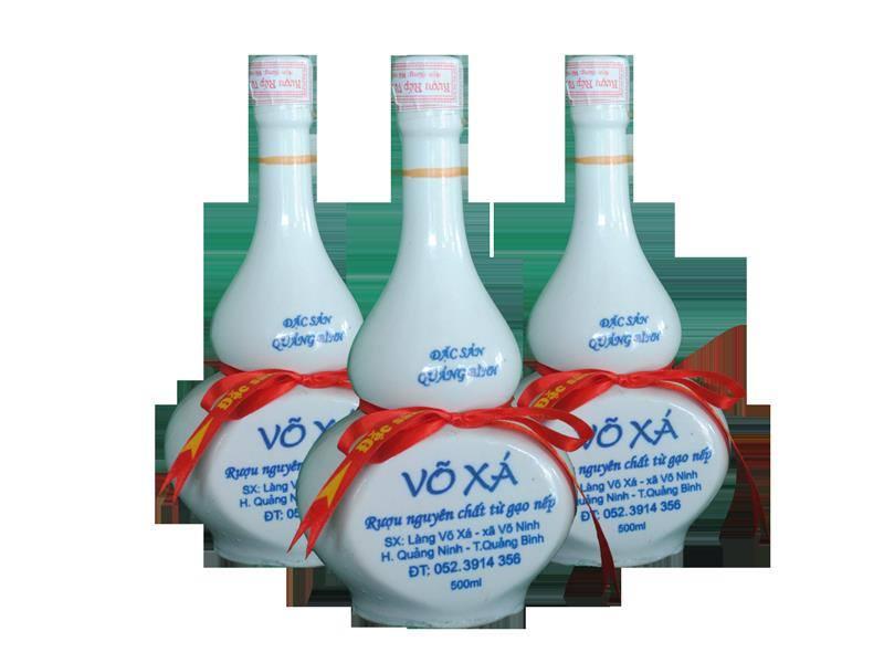 Rượu Võ Xá - đặc sản Quảng Bình