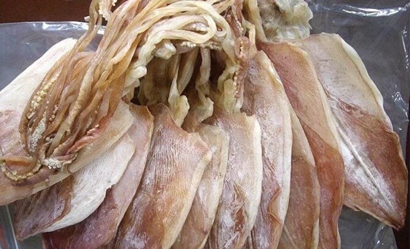 Mực khô Quảng Bình