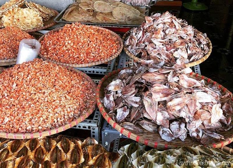 Hải sản khô Quảng Bình