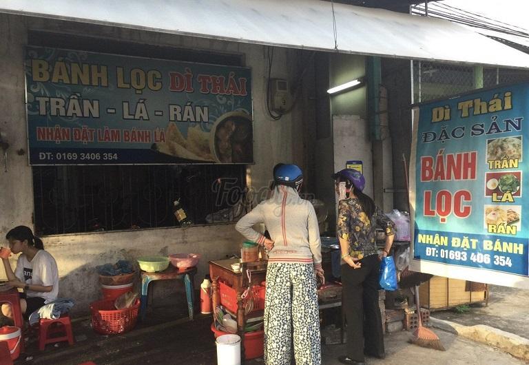 Bánh lọc dì Thái