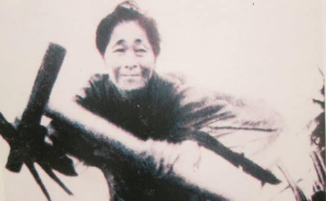 Hình ảnh người mẹ Việt Nam anh hùng Nguyễn Thị Suốt