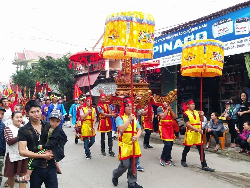 Lễ hội Cầu Ngư vào rằm tháng Giêng tại xã Cảnh Dương