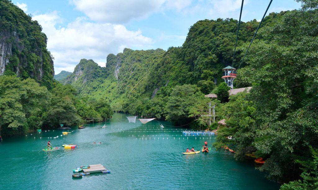 Sông Chày Hang Tối Quảng Bình