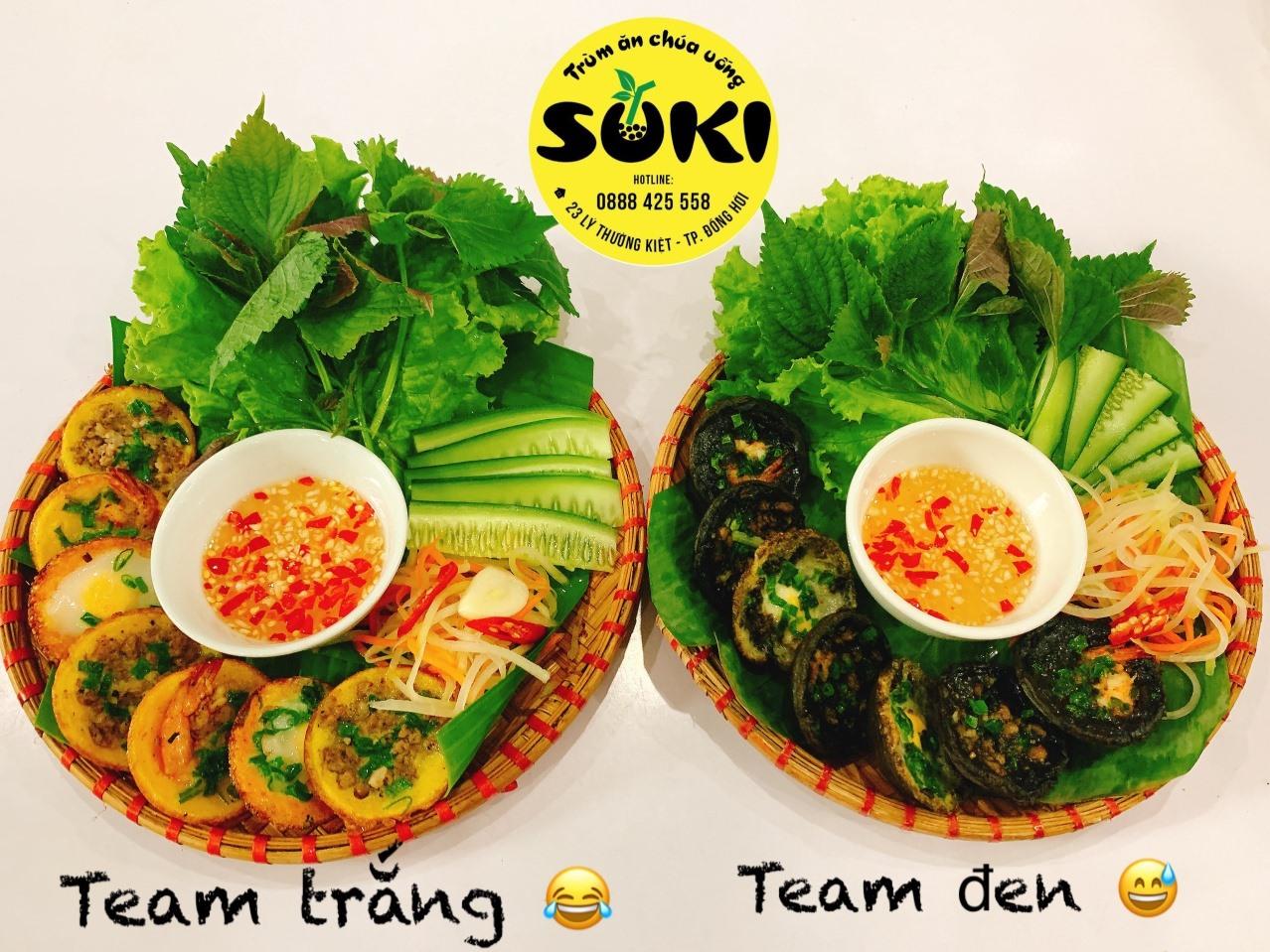 Món ăn hấp dẫn của Suki