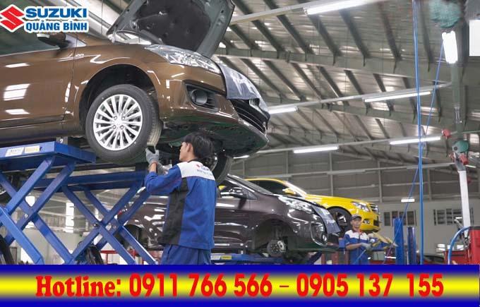 Dịch vụ cứu hộ ô tô của Đức Hùng - Suzuki Quảng Bình