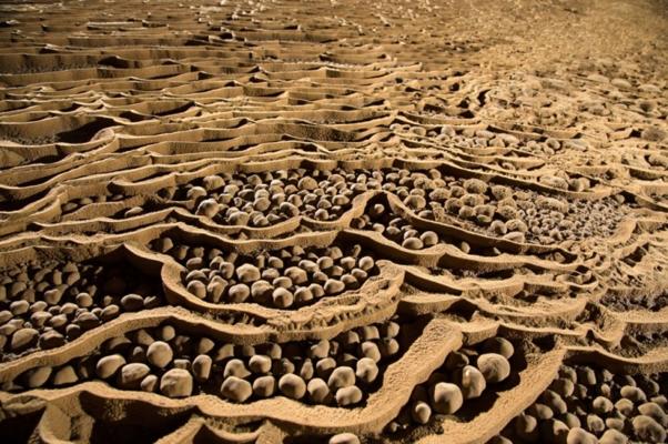 Nhũ đá ngọc trai khổng lồ hàng vạn năm tuổi ở hang Sơn Đòong