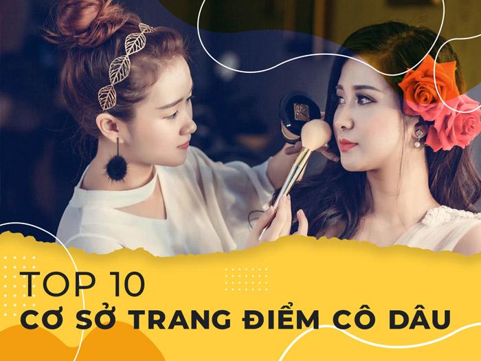 Điểm mặt top 10 cơ sở trang điểm cô dâu cực uy tín tại Quảng Bình