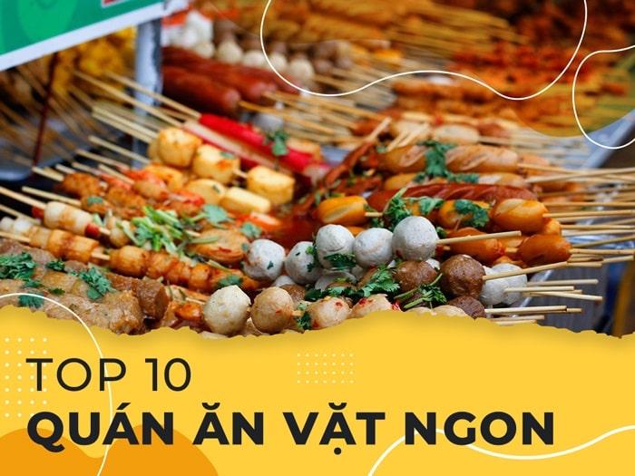 """Top 10 quán ăn vặt """"ngon nhức nách"""" tại Quảng Bình"""