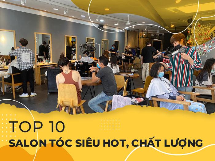 Top 10 Salon tóc siêu hot và chất lượng tại Quảng Bình