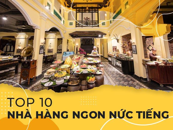 Top 10 nhà hàng ngon nức tiếng ở Quảng Bình