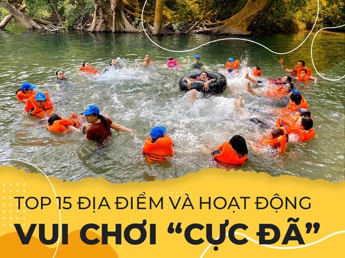 """Top 15 địa điểm và hoạt động vui chơi """"cực đã"""" tại Quảng Bình"""
