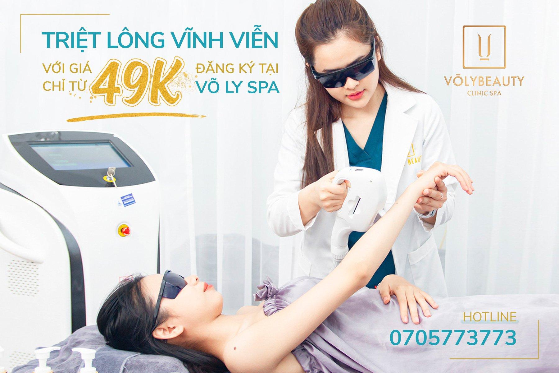 Dịch vụ tại Võ Ly Beauty Spa