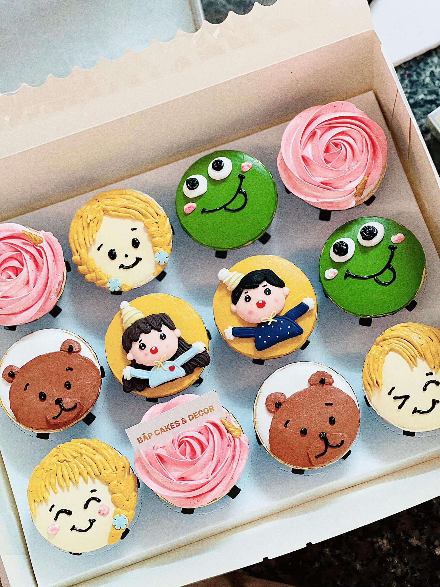 Những chiếc bánh nhỏ nhắn đáng yêu