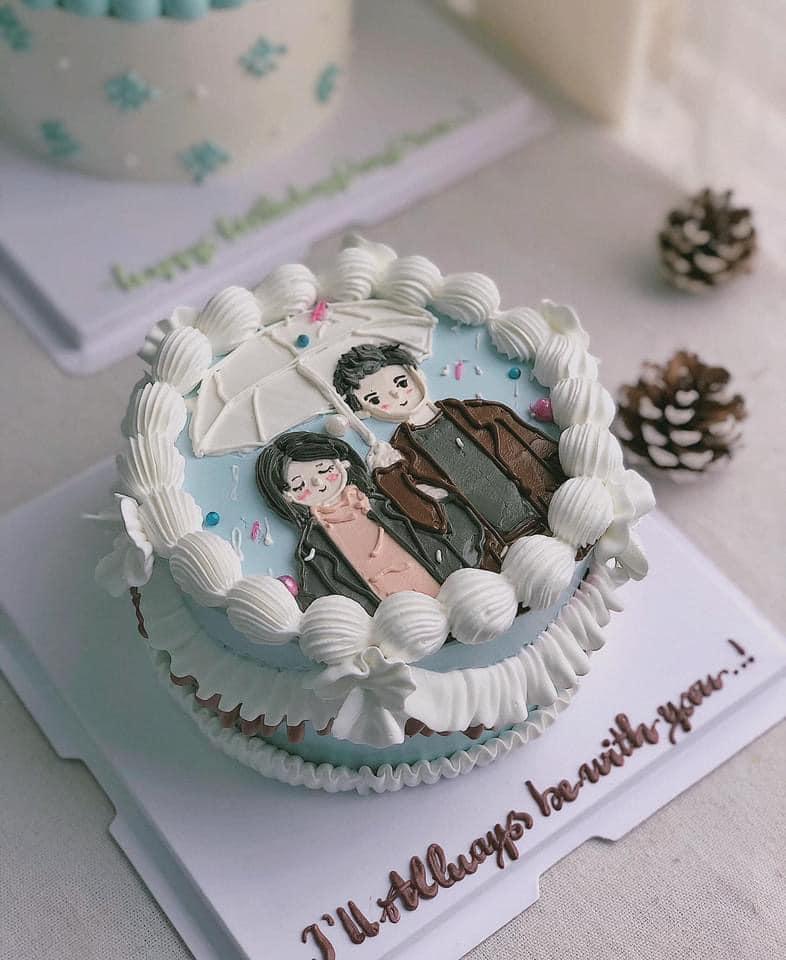 Bánh kem Bắp Cakes & Decor đều được trang trí tinh tế và đáng yêu