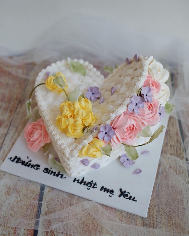 Một số mẫu bánh kem đáng yêu tại Linh's Cake