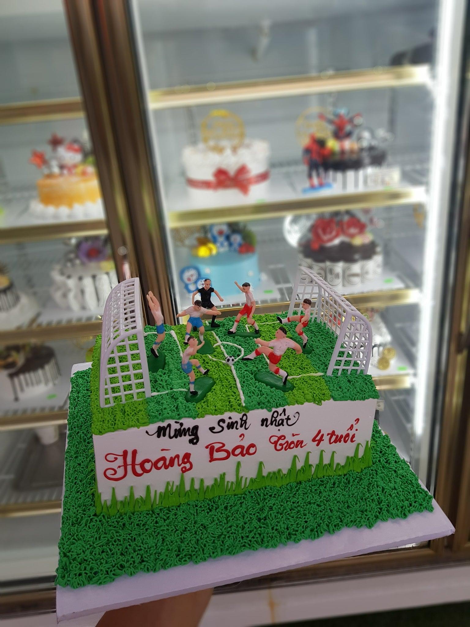 Một số mẫu bánh ở tiệm bánh Phi Thường