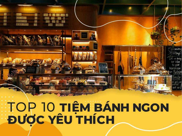 Top 10 tiệm bánh ngon được yêu thích nhất ở Quảng Bình