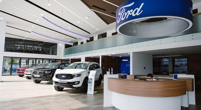 Ford Quảng Bình - nơi trưng bày những dòng xe chất lượng