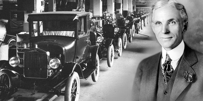 """Chân dung """"người cha"""" vĩ đại của những chiếc xe Ford"""