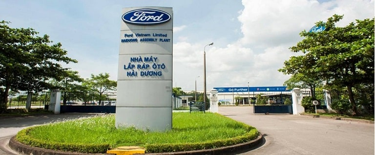 Ford sớm xuất hiện tại Việt Nam vào năm 1995