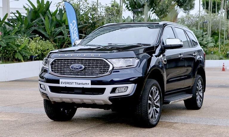 Dòng xe Ford Everest đẳng cấp, trang trọng