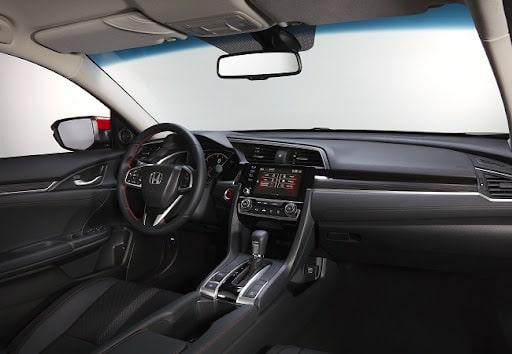 Honda Civic và nội thất bên trong