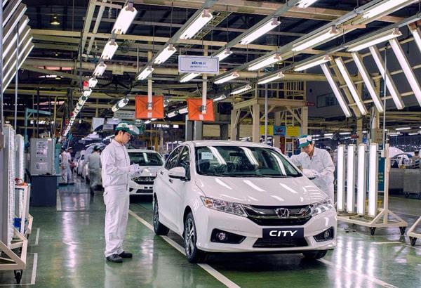 Xưởng sản xuất của Honda Việt Nam