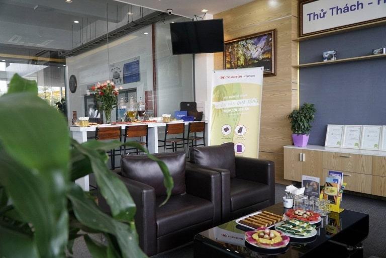Phòng chờ cho khách hàng tại Hyundai Quảng Bình