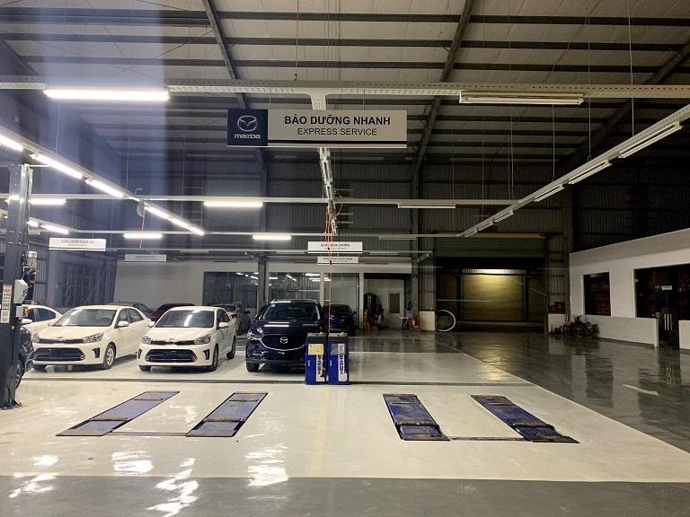 Xưởng dịch vụ chuyên nghiệp, chuẩn chỉnh của Kia Quảng Bình