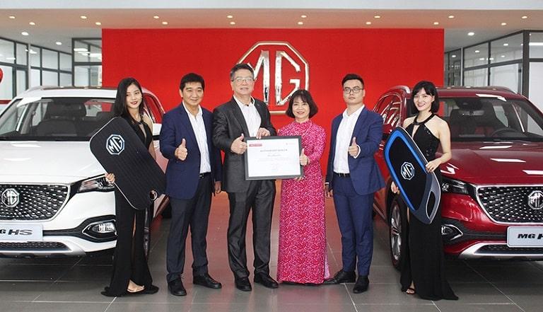 MG đang có những bước đầu tiến vào thị trường Việt Nam
