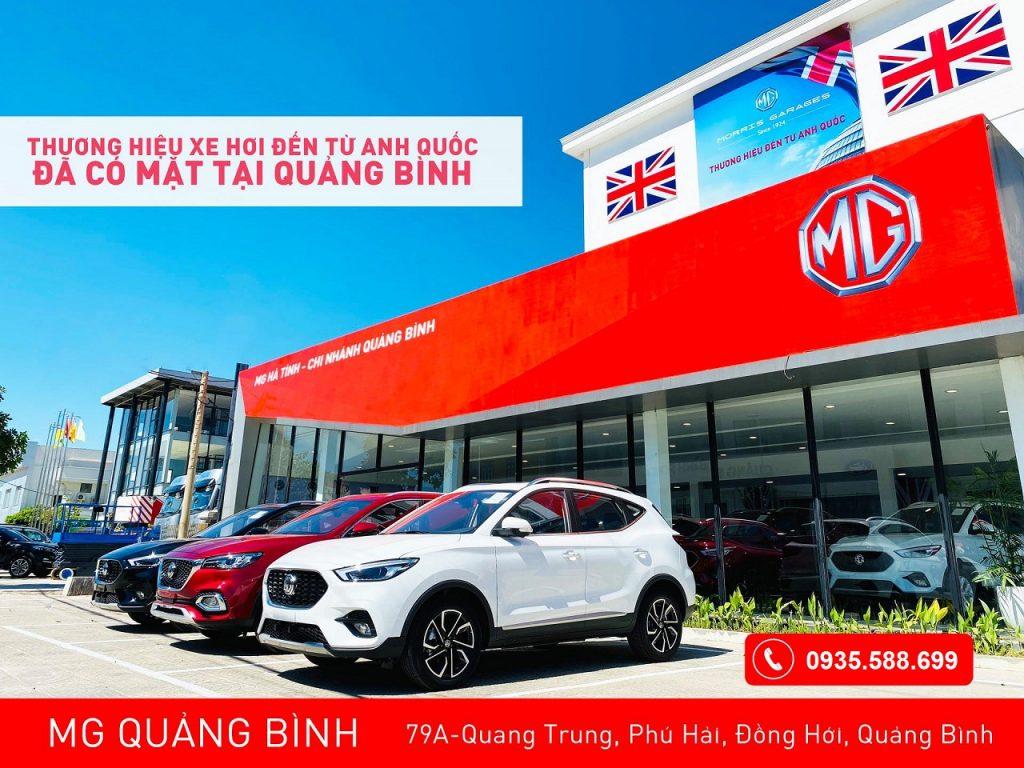 MG Quảng Bình - showroom xe Anh Quốc có lịch sử lâu đời