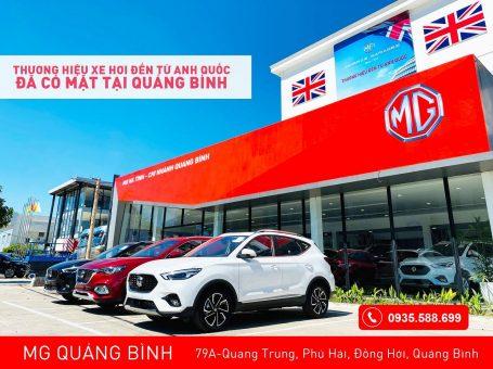 MG Quảng Bình – showroom xe Anh Quốc có lịch sử lâu đời
