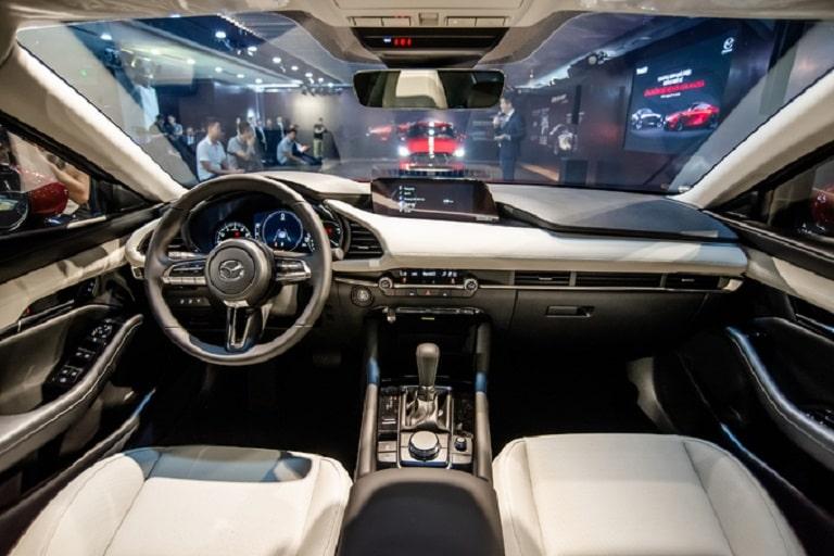 Bên trong của Mazda 3 vô cùng sang chảnh
