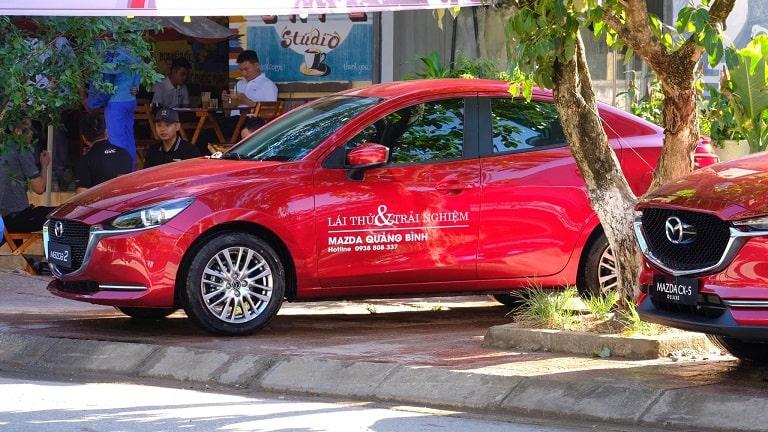 Chương trình lái thử và trải nghiệm của Mazda Quảng Bình