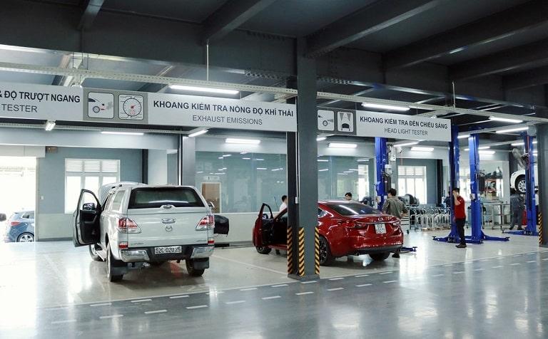 Salon ô tô đúng tiêu chuẩn, đáp ứng mọi yêu cầu chăm sóc xe