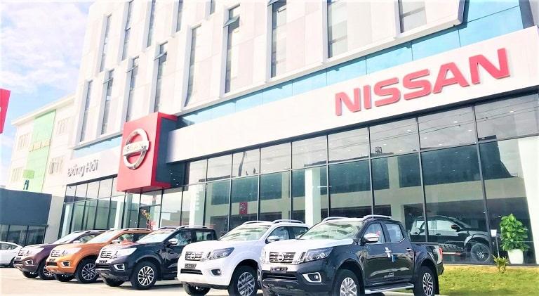 Showroom Nissan Quảng Bình được chứng nhận 3s