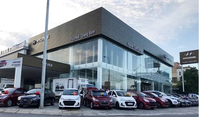 Showroom Hyundai Quảng Bình