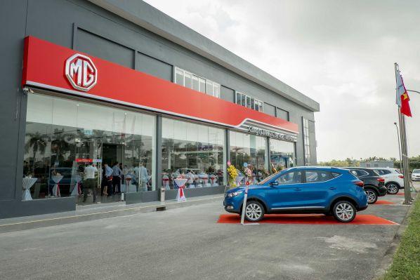 Showroom thương hiệu MG Quảng Bình