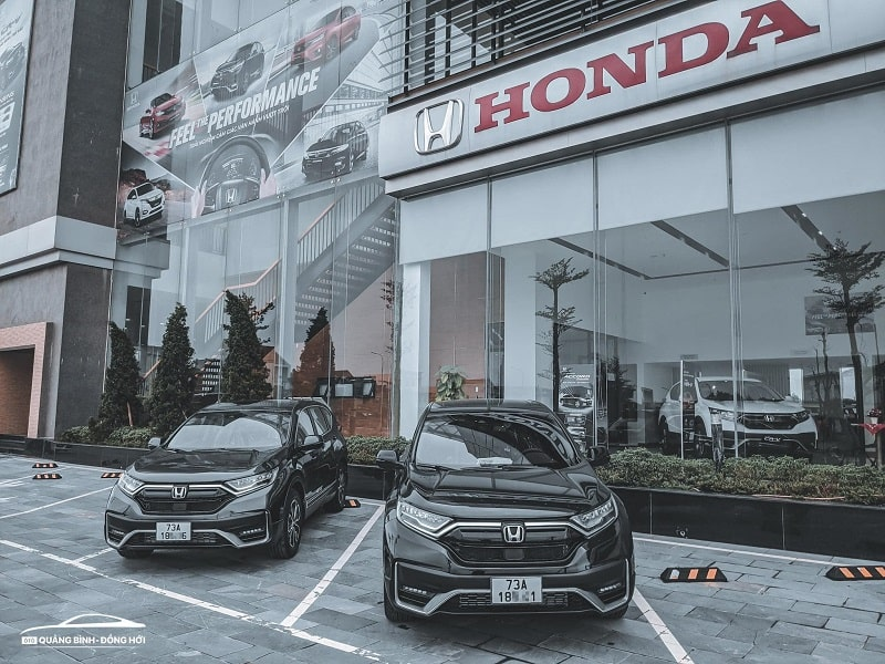 Showroom Honda ô tô Quảng Bình