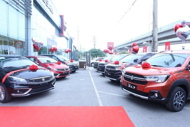 Suzuki Quảng Bình với dàn xe chất lượng