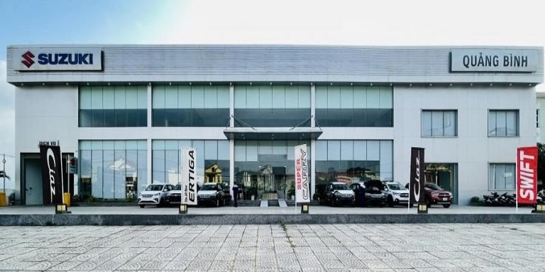 Suzuki Quảng Bình với chất lượng phục vụ đánh giá cao
