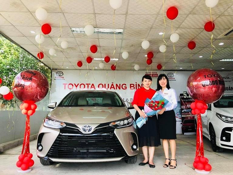 Showroom đạt tiêu chuẩn 3S của Toyota Quảng Bình