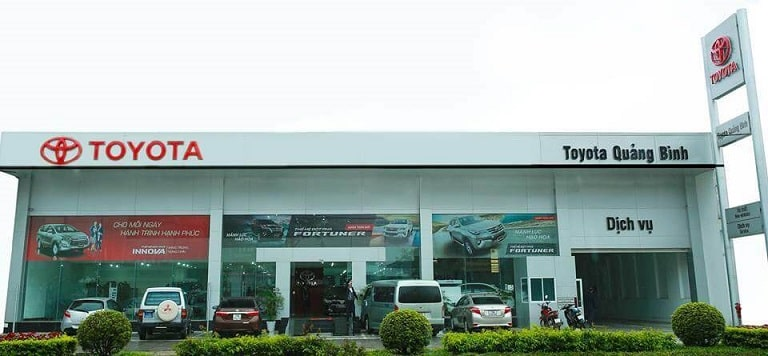 Toyota Quảng Bình – thương hiệu quốc dân uy tín