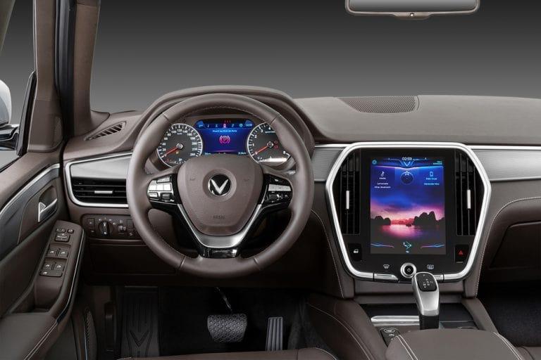 Thiết kế tương tự dòng xe Lux A2.0