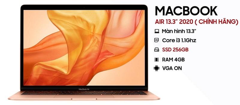 Laptop Macbook được bán tại Vĩnh Hoàng
