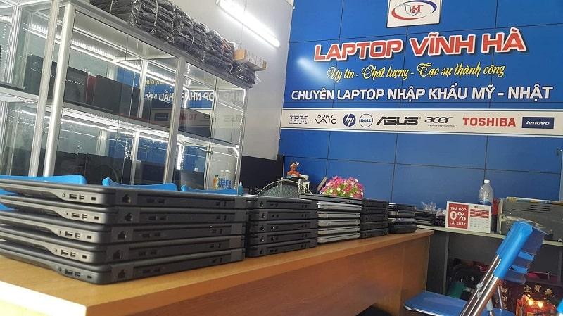 Cửa hàng laptop cũ Vĩnh Hà